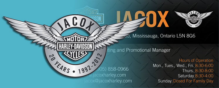 Jacox Logo and Business Card