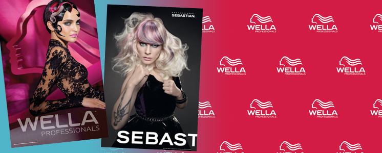 Wella and Sebastion Posters
